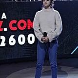 Selena Gomez Wearing Khaite Beige Sweater
