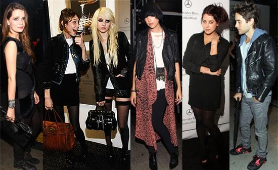 Celebs At New York Fashion Week - Weekend Roundup