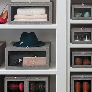 Grey Linen Closet Starter Kit