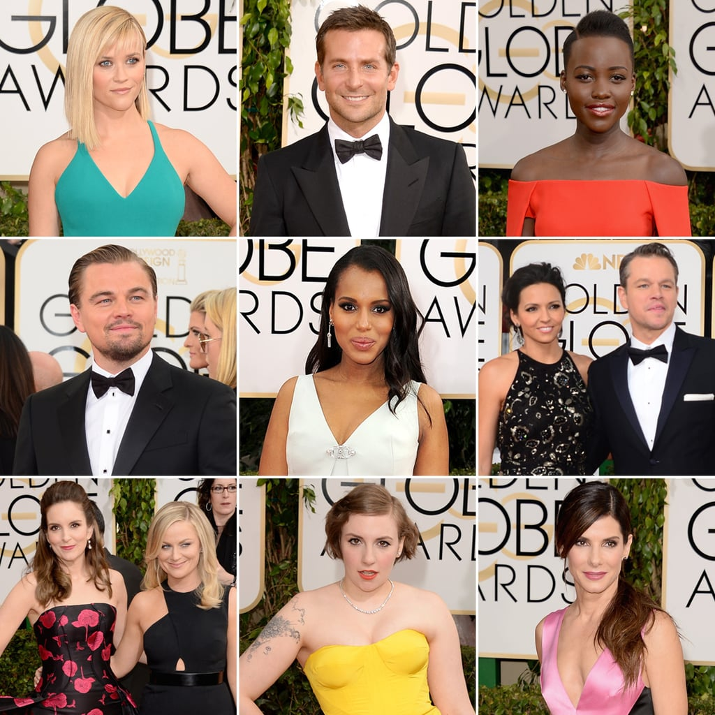 Famous Faces Flock to the Golden Globes Red Carpet