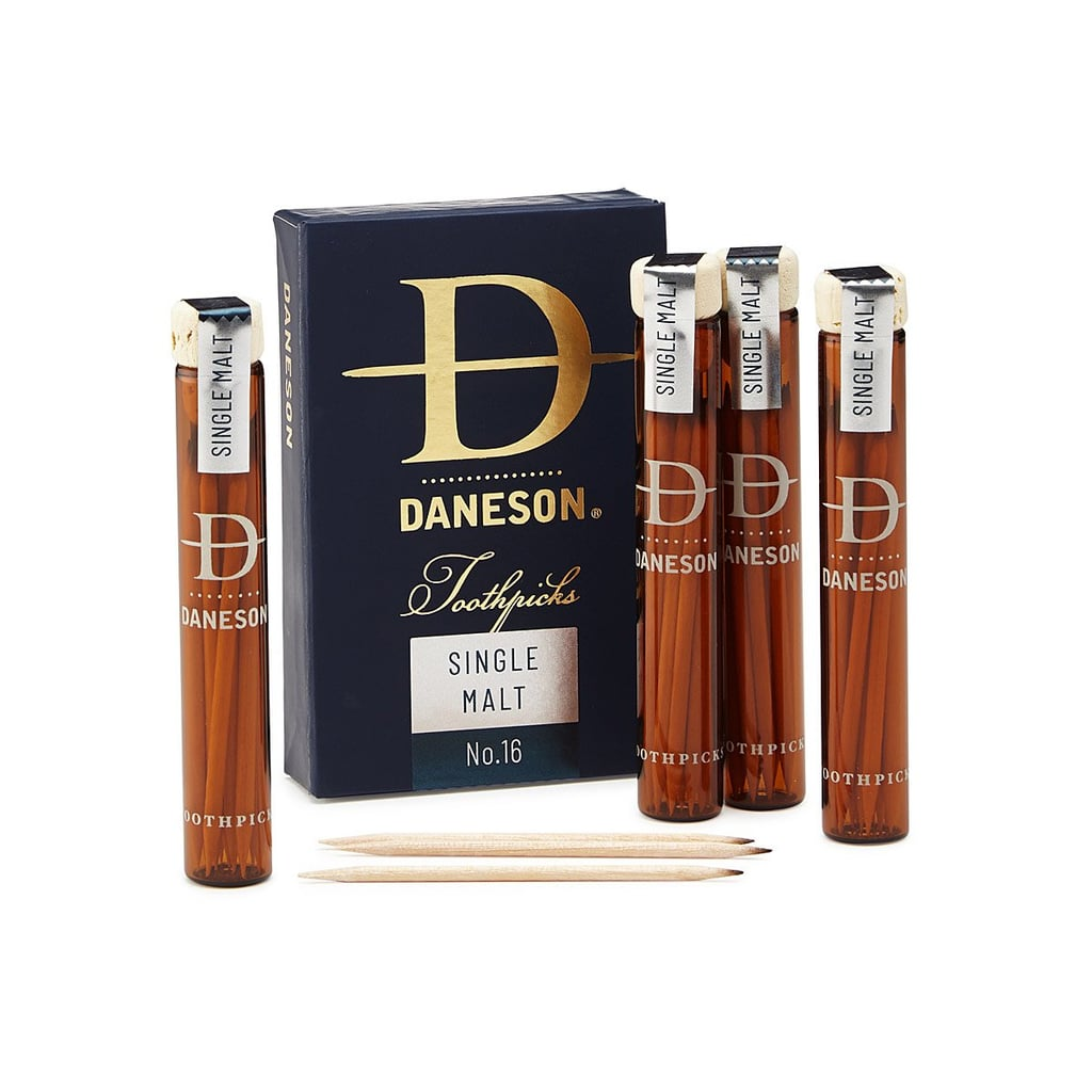 Scotch-Infused Toothpicks Gift Set