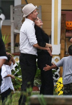 Angelina Jolie Talks About Brad Pitt's View of  Her Postpartum Body