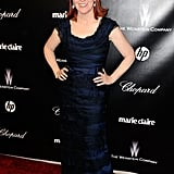 Kate Flannery at the Weinstein Company's after party.
