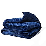 Gravity Blanket: The Weighted Blanket for Sleep, Stress, and Anxiety in Blue