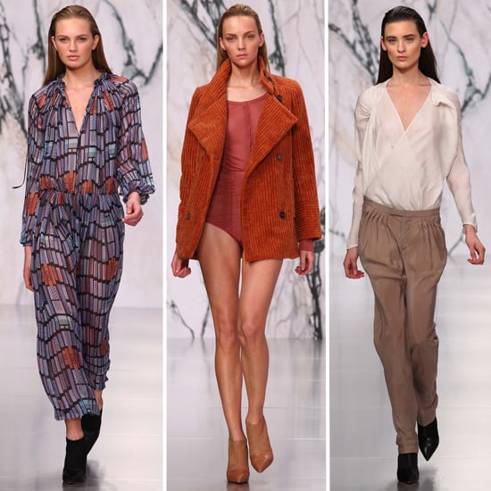 Review and Pictures of See by Chloe Autumn Winter 2012 Milan Fashion Week Runway Show