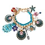 Betsey Johnson Little Mermaid-Inspired Charm Bracelet