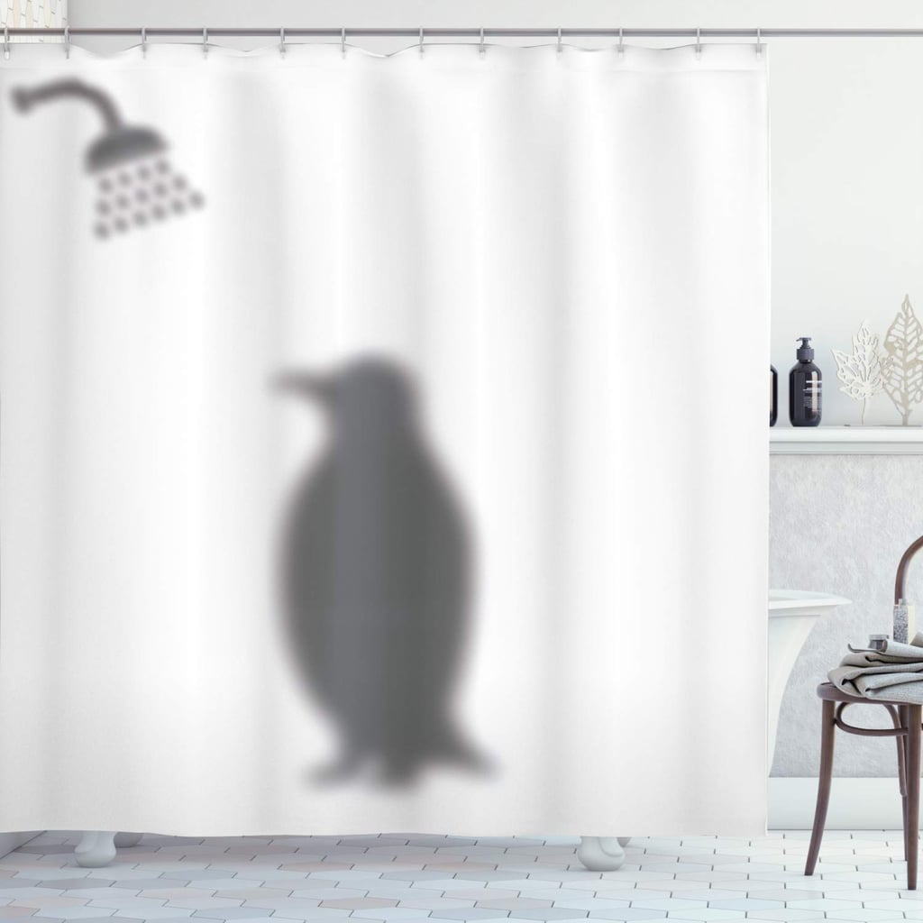 Penguin Shower Curtain Funny And Weird Shower Curtains On Amazon 2019 Popsugar Home Australia Photo 16