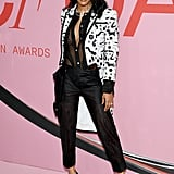 Teyana Taylor at the 2019 CFDA Awards