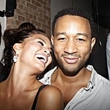 John and Chrissy were all smiles during an August 2008 party in NYC.