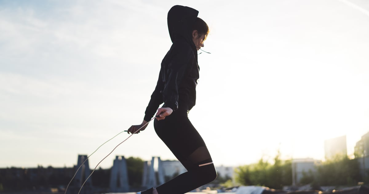 We Asked an Expert If Jumping Rope Burns Belly Fat — Here's What They Said - POPSUGAR thumbnail