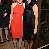 Elisabeth Moss posed with Lisa Rinna.