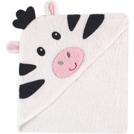 Luvable Friends Cotton Terry Animal Hooded Towel