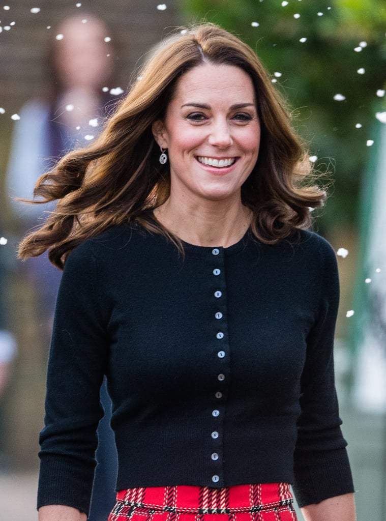 Kate Middleton's Tight Christmas Curls, 2018