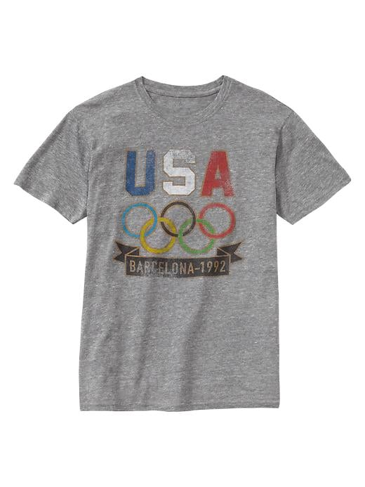 Gap's soft, vintage tees will lend Olympic spirit (and a cool-girl vibe) to your cutoffs and sneakers.