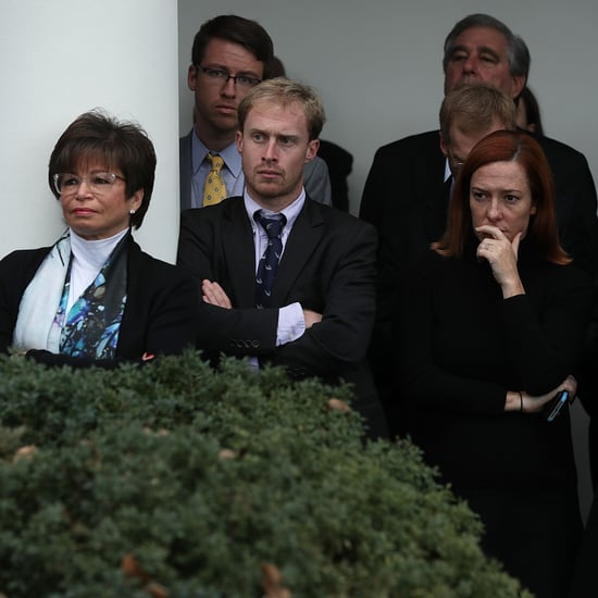 Pictures of President Obama's Staff After Trump's Win