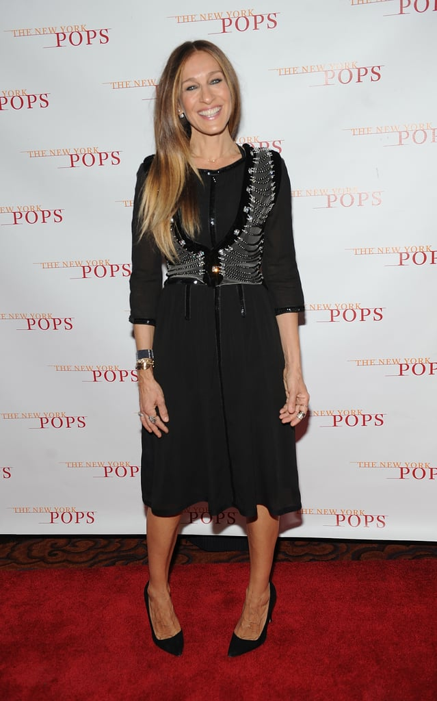 Sarah Jessica Parker celebrated the New York Pops's 31st birthday in NYC on Monday.