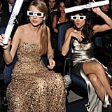 """Taylor Swift and Selena Gomez are often seated side by side at award shows and never shy away from getting goofy in public. They constantly tweet to each other, have dance parties, and reportedly help each other deal with breakups (and we all know how Taylor feels about Selena's ex Justin Bieber). Taylor has said about their friendship, """"So much about our lives have changed over the last couple of years, but  our friendship has stayed the same."""""""