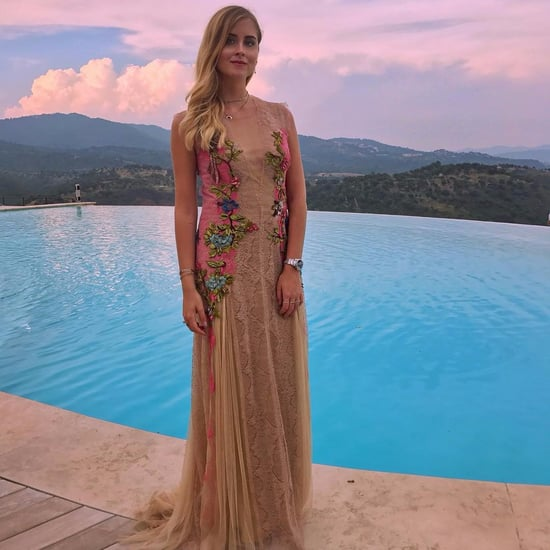 Valentina Ferragni's Wedding Guest Dress