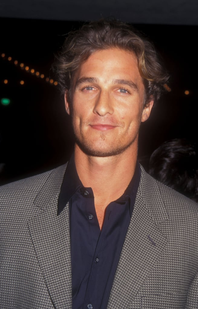 In October 1997, he looked good at the Seven Years in Tibet LA premiere.