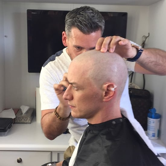 James McAvoy Shaves His Head For X-Men Picture