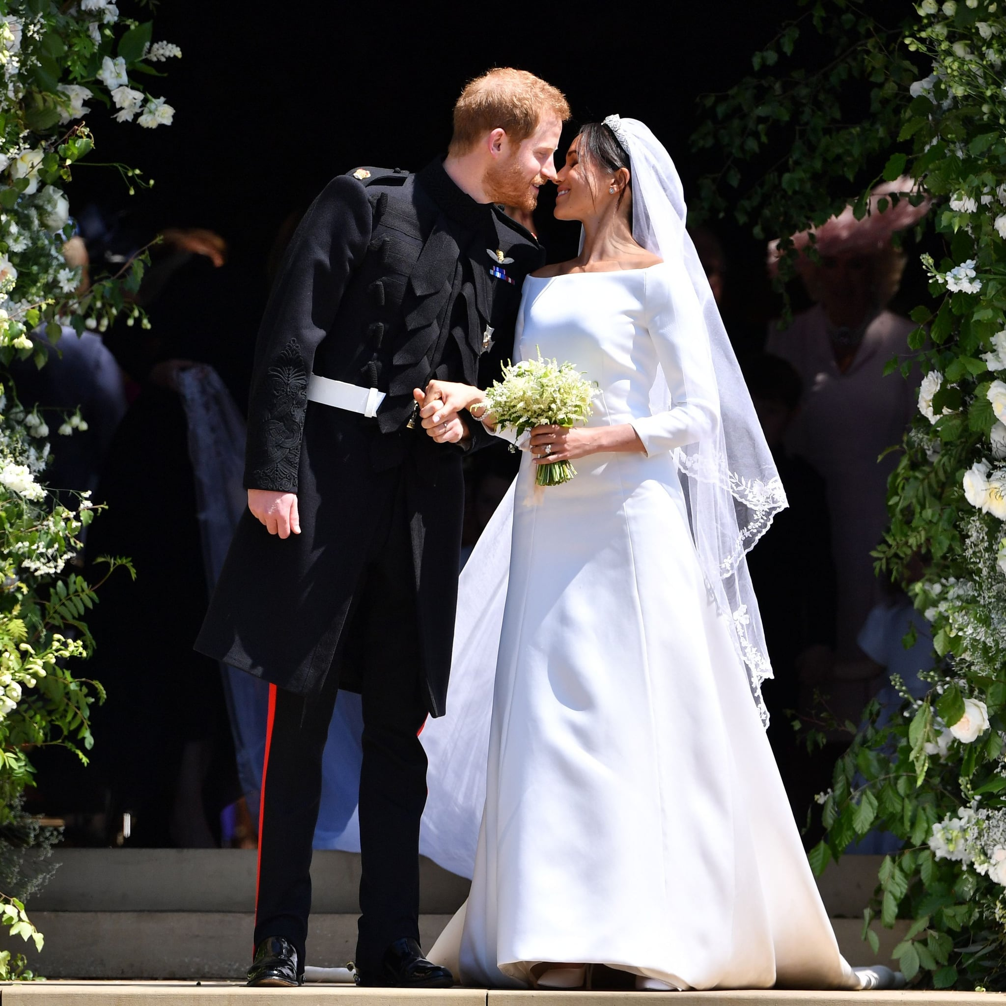Modest Celebrity Wedding Dresses | POPSUGAR Fashion
