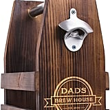 Asstd National Brand Cathy's Concepts Personalized Dad's Brew House Rustic Craft Beer Carrier