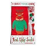 Design Your Own Real Ugly Christmas Socks Kit