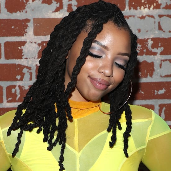 Shop Chloe Bailey's Yellow-Gold Strapless Summer Maxi Dress