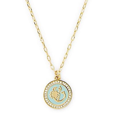 C. Wonder Delicate Enamel Zodiac Necklace