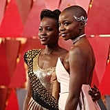 Pictured: Lupita Nyong'o and Danai Gurira