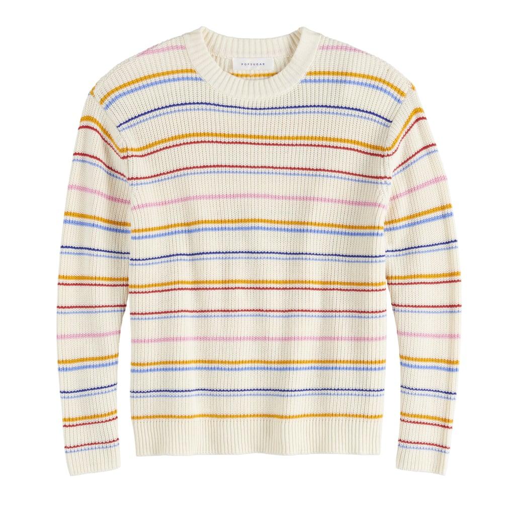 Affordable Fall Fashion Favorite: POPSUGAR Long Sleeve Boxy Sweater