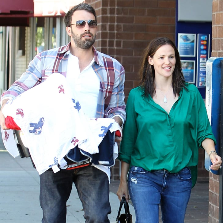 Jennifer Garner and Ben Affleck With Baby Samuel ...
