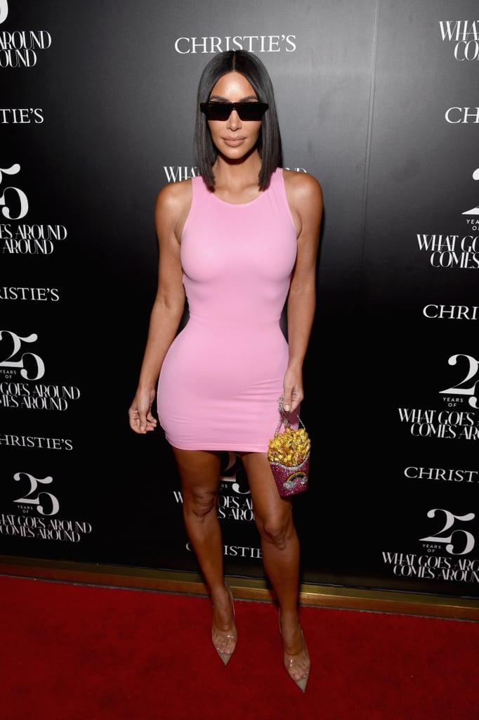 Kim Kardashian's French Fries Clutch August 2018
