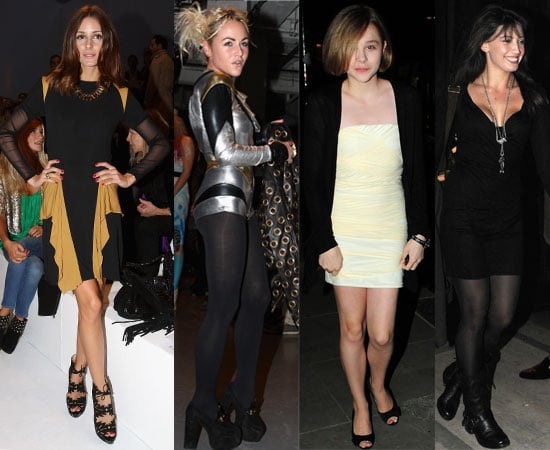 Pictures of Celebrities from 2011 Spring London Fashion Week