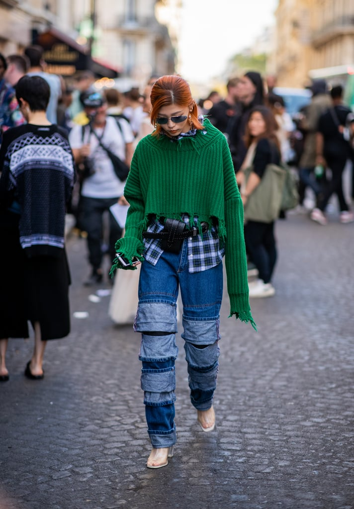 Denim Trends 2019 Popsugar Fashion