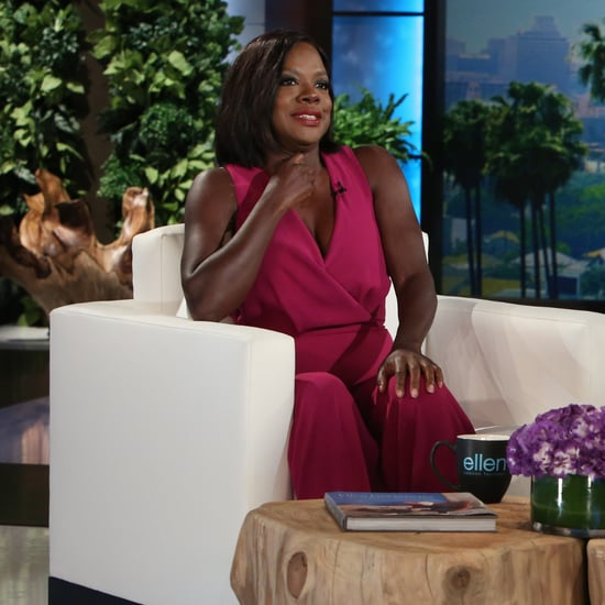 Viola Davis on The Ellen DeGeneres Show September 2016