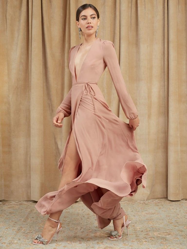 Best Long Sleeved Wedding Guest Dresses Popsugar Fashion