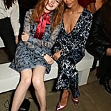 Ellie Bamber and Thandie Newton