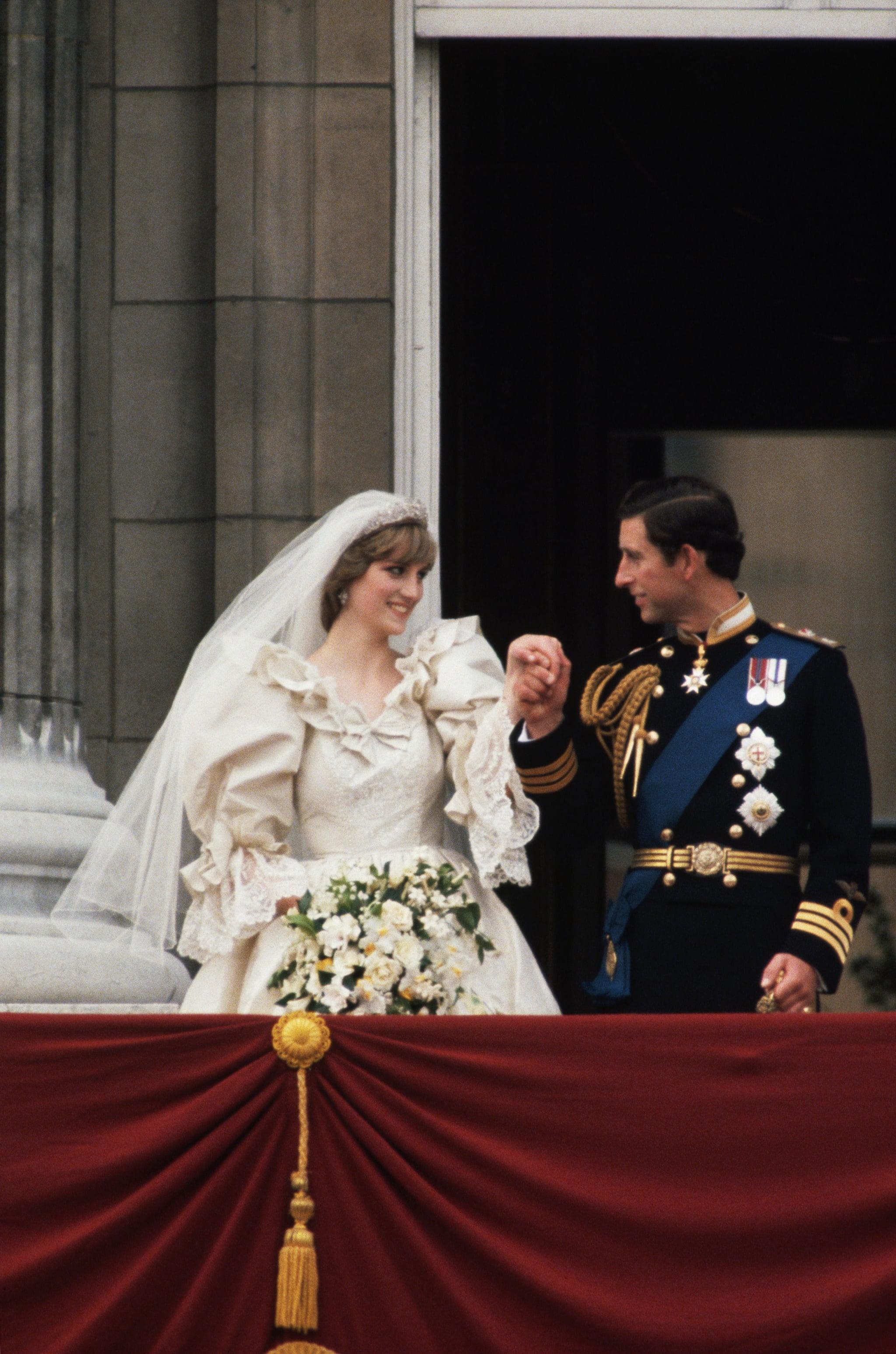 Princess Diana S Wedding Shoes Popsugar Fashion