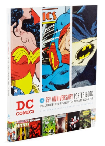 DC Comics: 75th Anniversary Poster Book