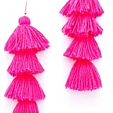You simply can't have a bad day when you have these Misa tassel earrings ($96) on.