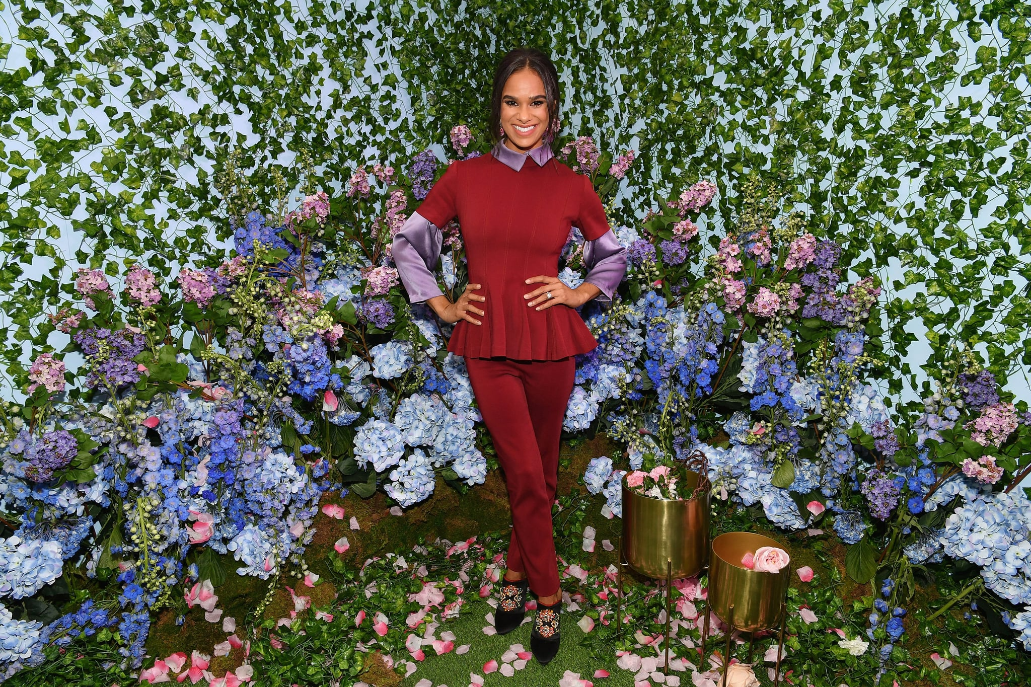NEW YORK, NY - OCTOBER 22:  Misty Copeland attends the Disney and POPSUGAR celebration of 'The Nutcracker and the Four Realms' with the film's stars Mackenzie Foy and Misty Copeland at an immersive activation, Journey Into The Four Realms, at The Oculus at Westfield World Trade Center on October 22, 2018 in New York City, United States.  (Photo by Dia Dipasupil/Getty Images for Disney Studios)
