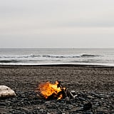 Have a beach bonfire.