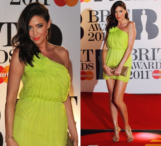 Photos of Lisa Snowdon at the 2011 Brit Awards