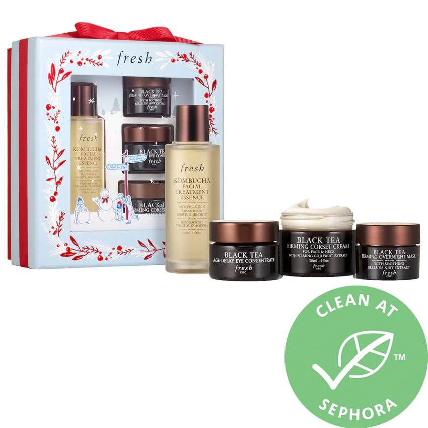 Fresh Black Tea Firming Skincare Set