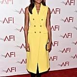 Naomie Harris celebrated the AFI Awards in 3.1 Phillip Lim.