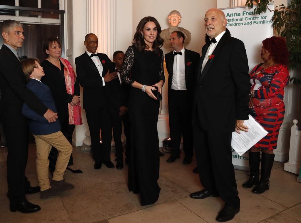 Kate Middleton at Anna Freud Centre Gala Dinner 2017