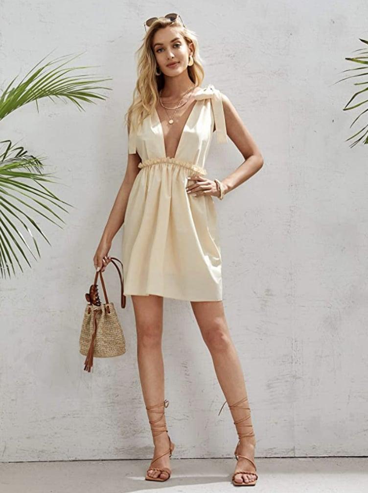 Backless Dresses on Amazon