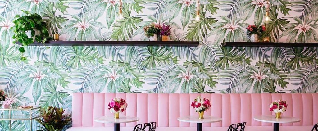 You'll Want to Live Inside This Gorgeously Decorated Matcha Cafe