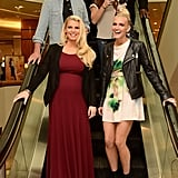 Maxwell Joins Jessica and Ashlee For a Fashionable Outing Down South